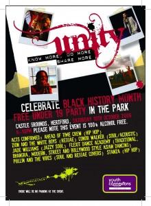 UNITY - a celebration of Black History Month
