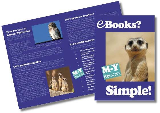 M-Y EBOOKS - leaflet copy and design for Frankfurt Book Fair